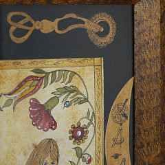 """Judith Brinck Watercolor """"Mermaid's Paradise"""", 2007"""