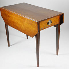 2-4908 One Drawer Drop Leaf Table A_MG_5074