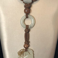 Pat Tseng Jadeite Bird Necklace