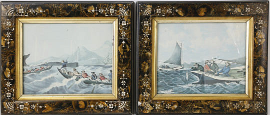 231-4621 Pr of Whaling Lithographs A_MG_5908