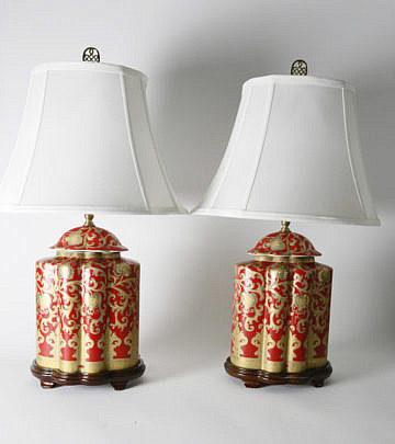 2378-955 Pair of Chinese Red Lamps A_MG_6116