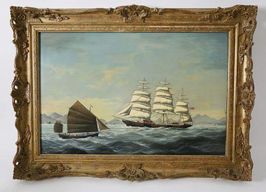 "242-4621 Salvatore Colacicco ""China Trade Shipping Scene"" A_MG_5638"