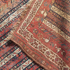 Antique Tribal Oriental Carpet