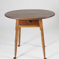 Bench Made Diminutive Cherry Oval Tavern Table