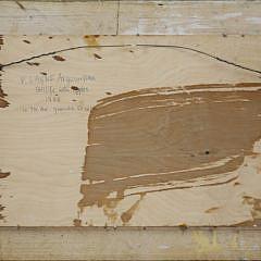 """Peter Layne Arguimbau Oil on Panel """"Apple Still Life"""", 1988"""