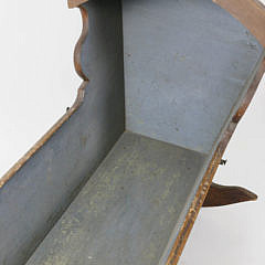 Nantucket Grain Painted Cradle, early 19th Century