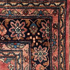 Vintage Hand Woven Sarouk Carpet