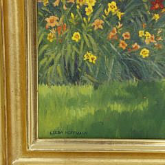 "Leesa Hoffman Oil on Canvas ""Daffodil Garden"""