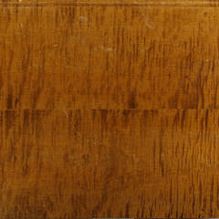 The Federalist American Chippendale Style Four Drawer Tiger Maple Chest of Drawers