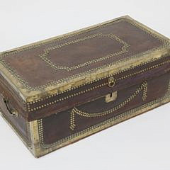 41020 Chinese Export Brass and Leather Camphorwood Trunk A_MG_4528