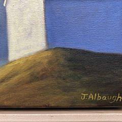"""Joan Albaugh Oil on Canvas """"Overlook"""""""