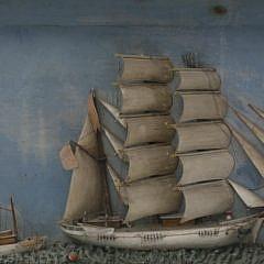 American Ship's Diorama