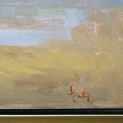 "Elle Foley Oil on Canvas ""Surf's Up"""