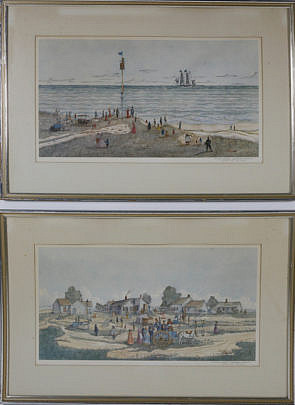 47-4905 Pair of R.R. Newell Chromolithographs A_MG_5214