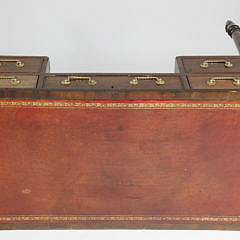 English Regency Mahogany Writing Desk