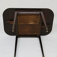 English Mahogany Diminutive Pembroke Table, circa 1810