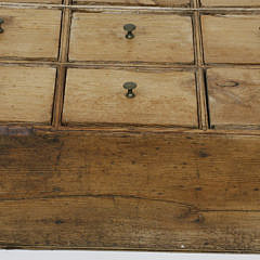 American Pine Twelve Drawer Apothecary Chest