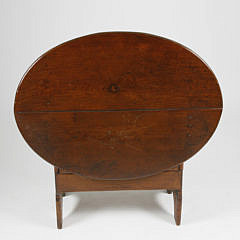 New England Child's Size Hutch Table