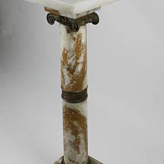 63-4820 19th C. Alabaster Column A_MG_4538