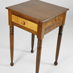 Sheraton Maple One Drawer Stand