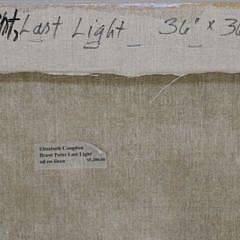 "Elizabeth Congdon Oil on Canvas ""Brant Point Last Light"""