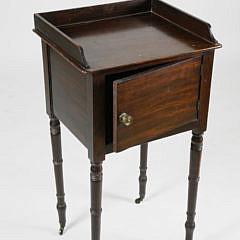 English Regency Mahogany Side Cabinet