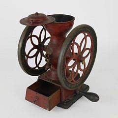 Antique Enterprise Philadelphia Cast Iron No. 2 Coffee Grinder