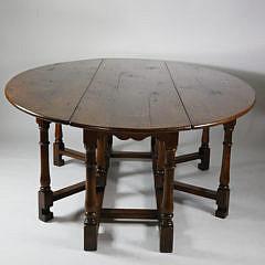 955 English Oak Drop Leaf Table A_MG_4699