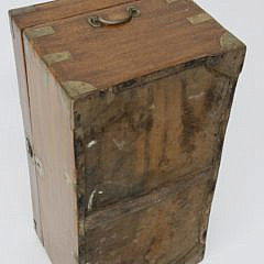Chinese Export Brass Bound Camphorwood Trunk, 19th Century