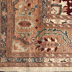 Hand Woven Wool Indo Heriz Carpet