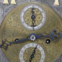 German Mahogany Tall Case Clock, ca. 1920-1940