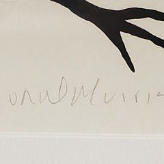 """Norval (Copper Thunderbird) Morrisseau Limited Edition Lithograph, """"Gathering Loons"""" #3/160"""