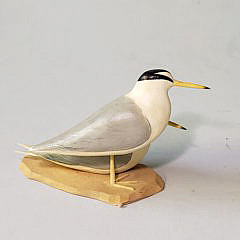 Miniature Hand Carved and Painted Shorebird Decoys