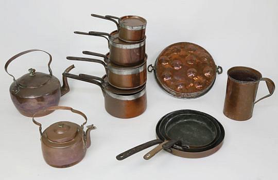 11-13 11 pc copper cookware A_MG_7163