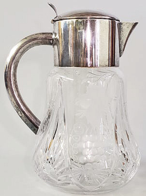 11-4800 Silver Plate Pitcher A