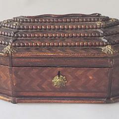 14-4777 Folk Art Jewelry Box A