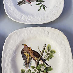 Set of 6 National Audubon Society Porcelain Birds of America Plates