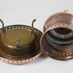 Antique Copper Turkish Brazier