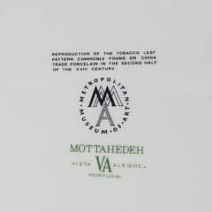 63 Piece Mottahedeh Vista Alegre Tobacco Leaf Dinner Service