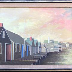 "4-4731 Paul Crosthwaite ""Old North Wharf"" A IMG_5427"