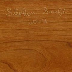 Stephen Swift Cherry Full Size Bed Frame, ca. 2003