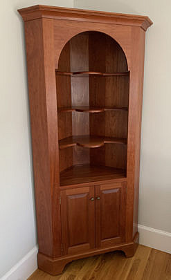 4-4930 Stephen Swift Cherry Corner Cupboard A IMG_3791