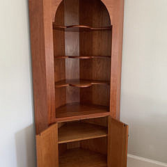Stephen Swift Cherry Corner Cupboard