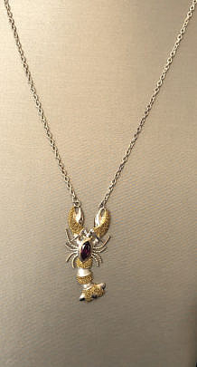 40841 Lobster Pendant A IMG_5527