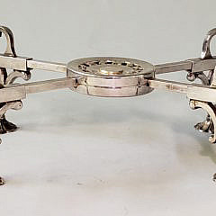 19th Century Silver Plated Trivet
