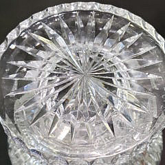Contemporary Limited Edition Heritage Cut Crystal Tulip Shaped Vase #1/100