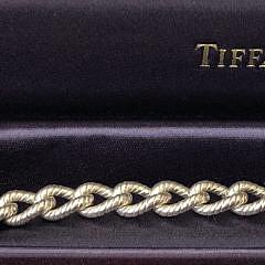 52-4419 Tiffany & Co. Sterling Silver Dogwood Flower Bracelet B IMG_5610