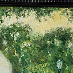 "Mary Anna Goetz Oil on Canvas, Mother's War Memorial, Coldman Plaza"""