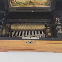 19th Century Music Box With Eight Arias