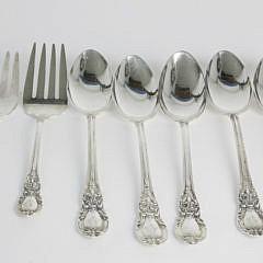 94 Piece Lunt Sterling Silver Flatware Service